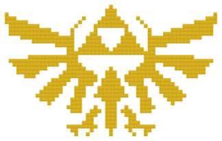 royal crest cross stitch