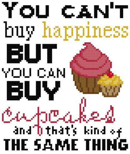 cupcake cross stitch