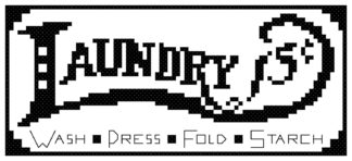 laundry cross stitch