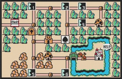 mario world map