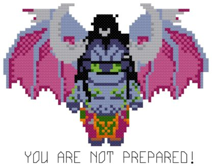 illidan cross stitch