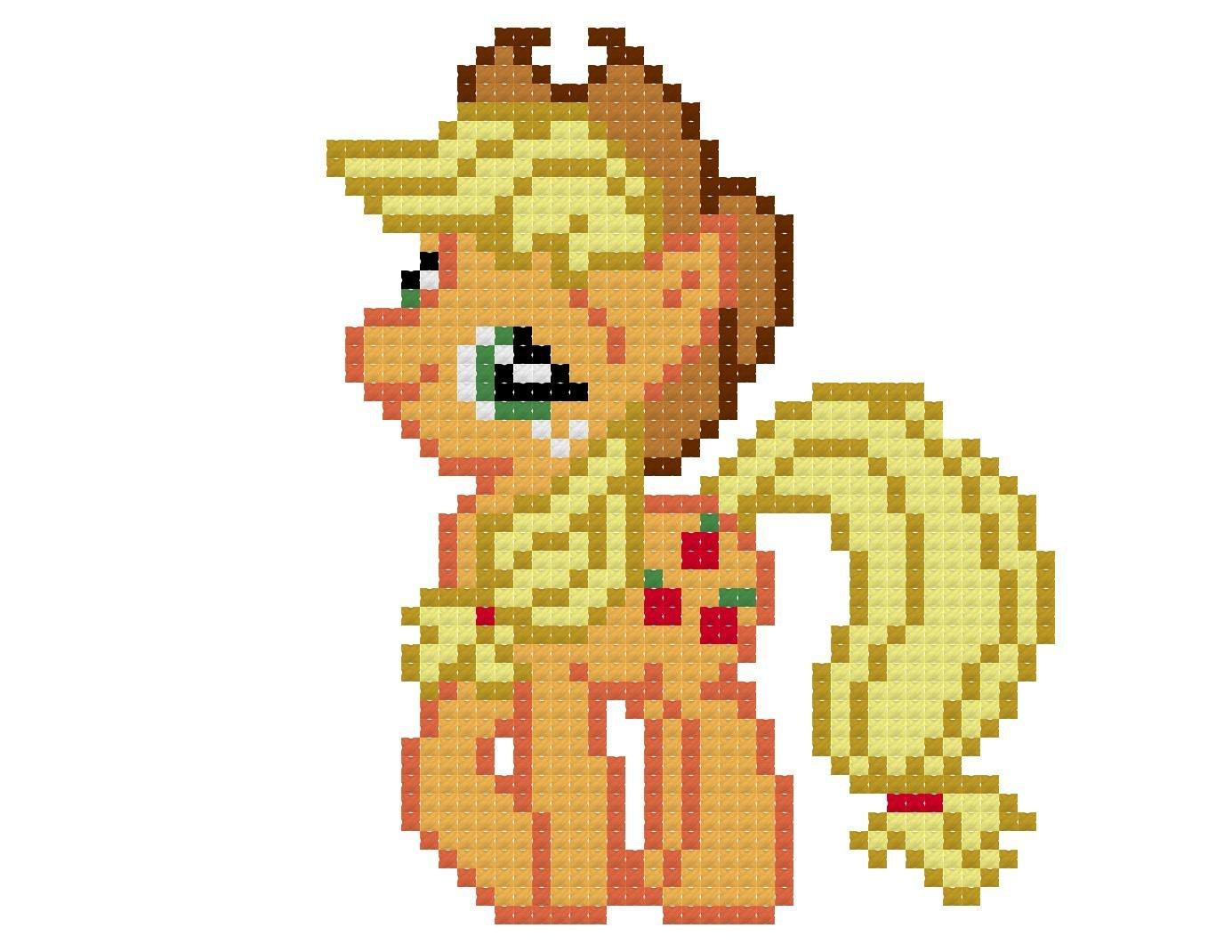 Applejack Cross Stitch Pattern