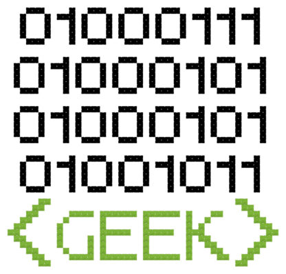 geek cross stitch