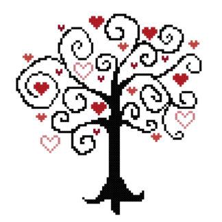tree cross stitch